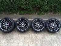 "18"" Alloy Wheels set BMW MV1's"