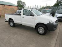 2013 63 Toyota Hi-Lux 29,000 Miles 2.5D-4D 4WD HL2 Single Cab Pick up