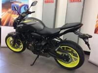 YAMAHA MT-07 ABS 2018 MODEL 0% FINANCE AND LOW DEPOSIT