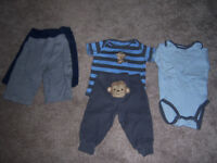 Carter's 3-6 mo boys set