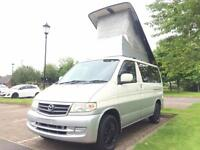 MAZDA BONGO 4 BERTH DIESEL 4x4 AUTO FREE TOP LOW MILES *NEW CONVERSION*