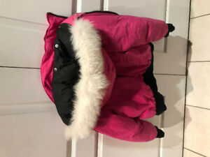Girls XL moose knuckle bomber jacket