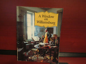 Window on Williamsburg Paperback – July 1, 1977