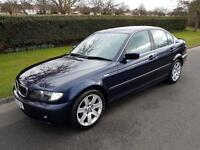 BMW 320i (2.2) SE - AUTOMATIC - 4 DOOR - BLUE **ONLY 67,000 WARRANTED MILES **