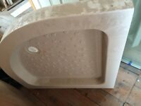 800mm quadrant shower tray