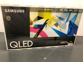 New smart tv Samsung QLED 55 inch magic remote control new model 2020