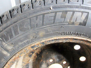 4 michelin ice 205/65r/16 West Island Greater Montréal image 5