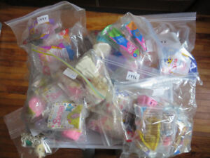 Large McDonald's Happy Meal Toys Barbie Collection Lot