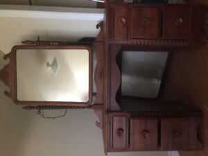 Solid wood Dresser/vanity