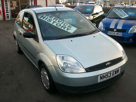 Ford Fiesta 1.25 2004.25MY Finesse