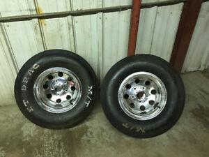 Eagle Alloy Wheels with MT Drag Slicks