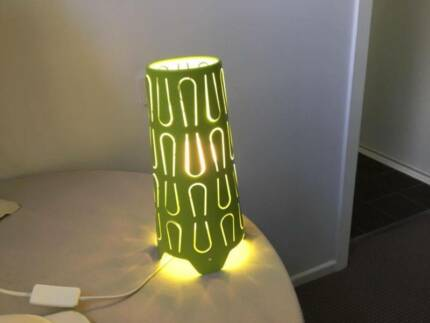 Green Bedside/Table Lamp