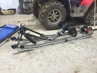 "Polaris RMK 151"" suspension"