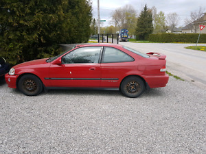 99 civic si 2 door auto 362000kms valid etest