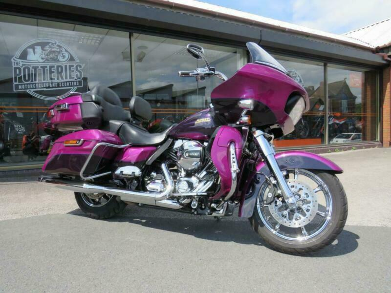 Harley Davidson Road Glide Ultra CVO Spec 2016 **One of a kind Harley  Special** | in Stoke-on-Trent, Staffordshire | Gumtree