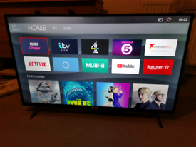TCL 43'' 4K HDR smart TV - ex-display