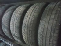 Four Michelin 215 60 16 winter tires