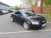 Audi TT Coupe 1.8T ( 225bhp ) 03/03 FSH FULL MOT H/LEATHER XENONS BOSE VGC