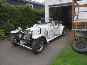 1934 Frazer Nash Replica on a 1968 VW Chassis Swap for a 4X4 !!