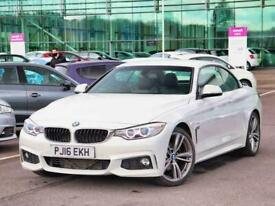 image for 2016 BMW 4 Series 420d [190] M Sport 2dr Auto [Professional Media] Sports Diesel