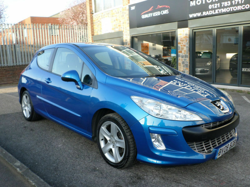 2008 peugeot 308 2 0hdi 136bhp fap sport 3dr 08 reg diesel blue in sheldon west midlands. Black Bedroom Furniture Sets. Home Design Ideas