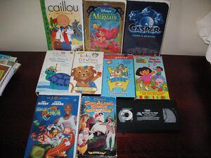 Cassette VHS films pour enfants