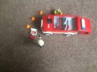 Playmobil small fireman's car