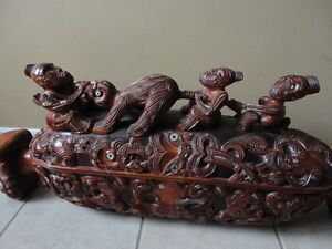 Unique Thai Hand Carved Sculpture Feng Shui London Ontario image 2