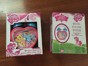 New! My little pony twin bell alarm clock Reduced! Kitchener / Waterloo Kitchener Area image 2