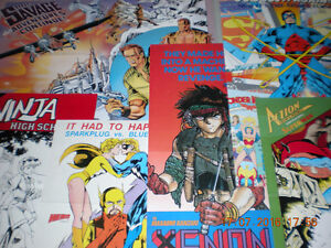 COMIC BOOK  POSTERS for Sale Cornwall Ontario image 9