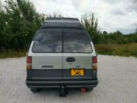 FORD AEROSTAR DAY VAN CAMPER TOW BAR HIROOF LHD 7 SEATS BECOME BED! PX SWAPS