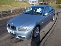 BMW 3 SERIES 2.0 318d M SPORT (blue) 2009