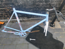 No logo fixie bike for spares or repairs