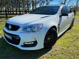 2017 Holden Commodore VF II MY17 SS-V Redline White 6 Speed Manual Sedan Richmond Hawkesbury Area Preview