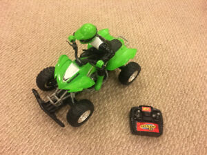 RC (radio-controlled) car fast and fun