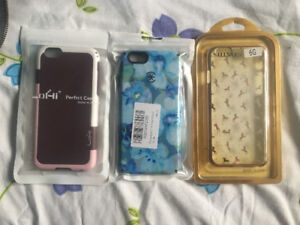 Three iPhone 6/6s cases. New condition. Used for a week max.