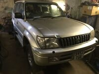 Toyota Land Cruiser Colorado 2001 Diesel. Faulty transfer box. Landcruiser