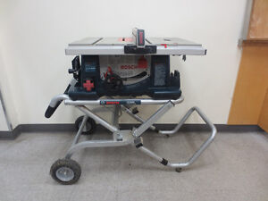 "Bosch 10"" Table Saw"