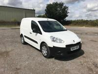 Peugeot Partner L1 850 S 1.6 92PS (SLD) EURO 5 DIESEL MANUAL WHITE (2014)