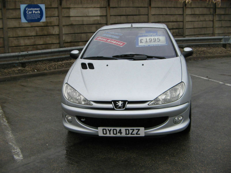 2004 peugeot 206 quicksilver edition convertible 1.6 with air