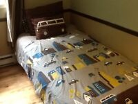 Modern Boy's Twin Bed Comforter