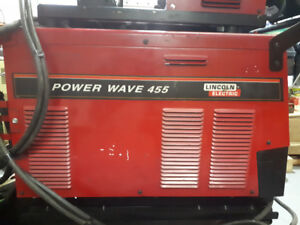 Soudeuse Lincoln power wave 455, MIG STICK TIG.