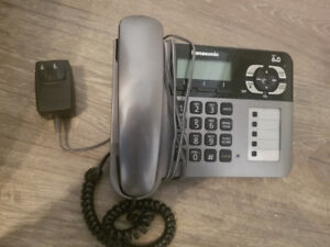 Panasonic KX-TG1061 6.0 Phone System/Answer Machine w/ Extra Pho
