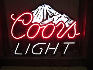 Coors Light Sign/Light
