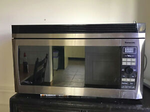 Panasonic Over The Range Microwave Oven