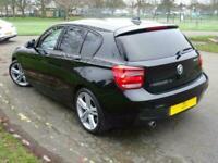 2012 BMW 1 Series 120d M Sport 5dr Step Auto HATCHBACK Diesel Automatic