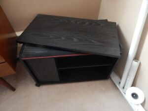 Moving Sale Item,TV Stand, Swivel Top Shelf.