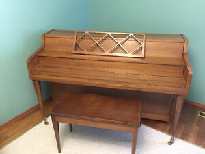 GREAT BELL Piano with Bench. ONLY: 380