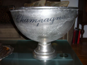 Pewter Champagne Bath