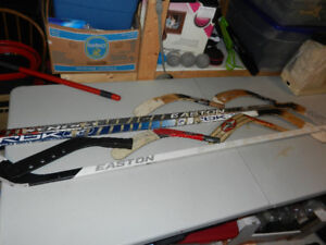 3 Right shot hockey sticks -  $15 each